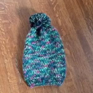 Colorful knit hat